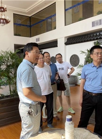祁阳县领导到湘祁公司视察,并给予高度认可、评价!